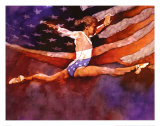 Olympic Gymnast Prints by Michael C. Dudash