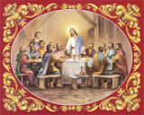 Last Supper Prints by Vincent Barzoni