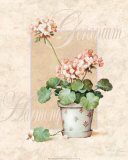 Geranium Prints by T. C. Chiu