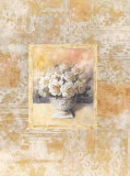 Romantic Still Life with Roses II Print by Tan Chun