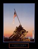 Fortitude: Iwo Jima Poster van Vito Palmisano