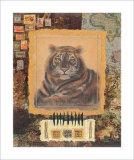 Tigre de safari Láminas por Ann Walker