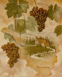 Toscana: abundancia Lámina