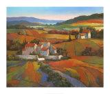 Tan Chun - Tuscan Sunrise Reprodukce