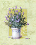 Lavender Prints by T. C. Chiu
