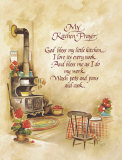 My Kitchen Prayer Plakat