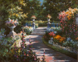 Garden Path Prints by T. C. Chiu