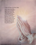 I Said a Prayer for You Print by Danny Hahlbohm