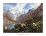 Heritage, Alpine Lake Art by Millner