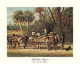 William Aiken Walker - The Cotton Wagon - Poster