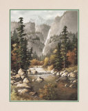 Mountain Stream Prints by T. C. Chiu