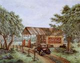 Estación antigua Arte por Kay Lamb Shannon