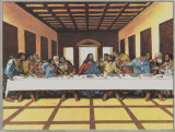Black Last Supper Prints by  Tobey