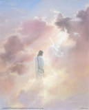 Christ in Clouds Póster por Danny Hahlbohm