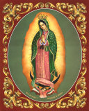 Lady of Guadalupe Prints by Vincent Barzoni