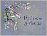 Herzlich willkommen, Freunde Kunstdrucke von T. C. Chiu