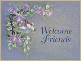 Welcome Friends Prints by T. C. Chiu