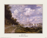 The Basin at Argenteuil Posters by Claude Monet