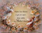 Before Love Blooms Plakat autor T. C. Chiu