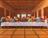 Last Supper Poster by  Tobey