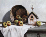 Birdhouse, Basket, Apple Posters by T. C. Chiu