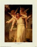 L'innocence Affiches par William Adolphe Bouguereau