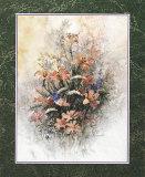 Poppies Art by T. C. Chiu