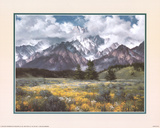 Rocky Mountain Peaks Poster by Jack Sorenson