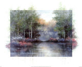 Lakeside Reflections Print by Tan Chun