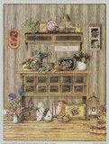 Antique Dresser Print by Kay Lamb Shannon