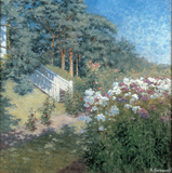 A Summer Garden Posters by A. Gronvold