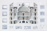 Boston Architectural Center Prints by Richard Haas