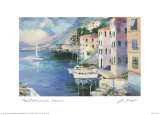 Mediterranean Sunrise Prints by  Laforet
