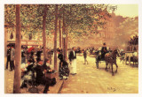 A Sunday Afternoon Poster by Jean Béraud