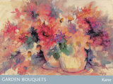 Garden Bouquets Prints by Edythe Kane