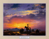 Western Landscape Posters by Jack Sorenson