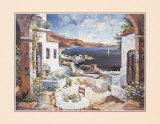 Arched Veranda Konst av  Conte