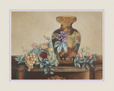 Vase with Purple Flowers Prints by Kay Lamb Shannon