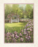White Swing in Arbor Prints by Peggy Thatch Sibley