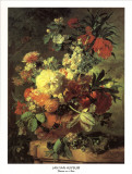 Flowers in a Vase Posters by Jan van Huysum