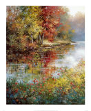 Autumn Pond Prints by Tan Chun