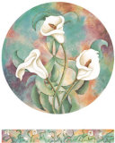 Tiger Lilies Prints by Pat Woodworth