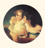 Portrait des Enfants de Charles B. Calmady Posters by Thomas Lawrence