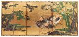 Phoenix and Paulownia Kunstdrucke von Tosa Mitsuyoshi