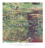 Etang aux Nympheas Posters by Claude Monet