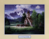 Western Church Posters by Jack Sorenson