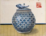 Tea Ceremony IV Art by Michel Lablais
