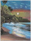 Moonlit Beach Posters by  Lirette