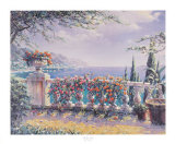 Rose Terrace Print by Robert Pejman