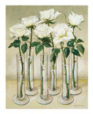 White Roses Art by Galley 